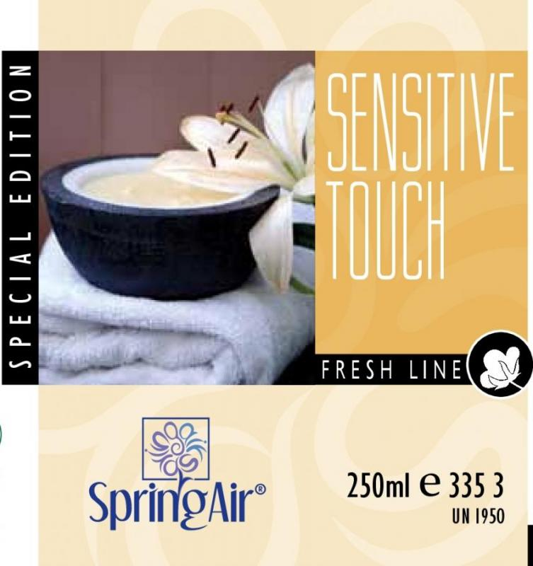 SPRING AIR NÁPLŇ DO OSVIEŽOVAČA SENSITIVE TOUCH  - SPRAY 250ML